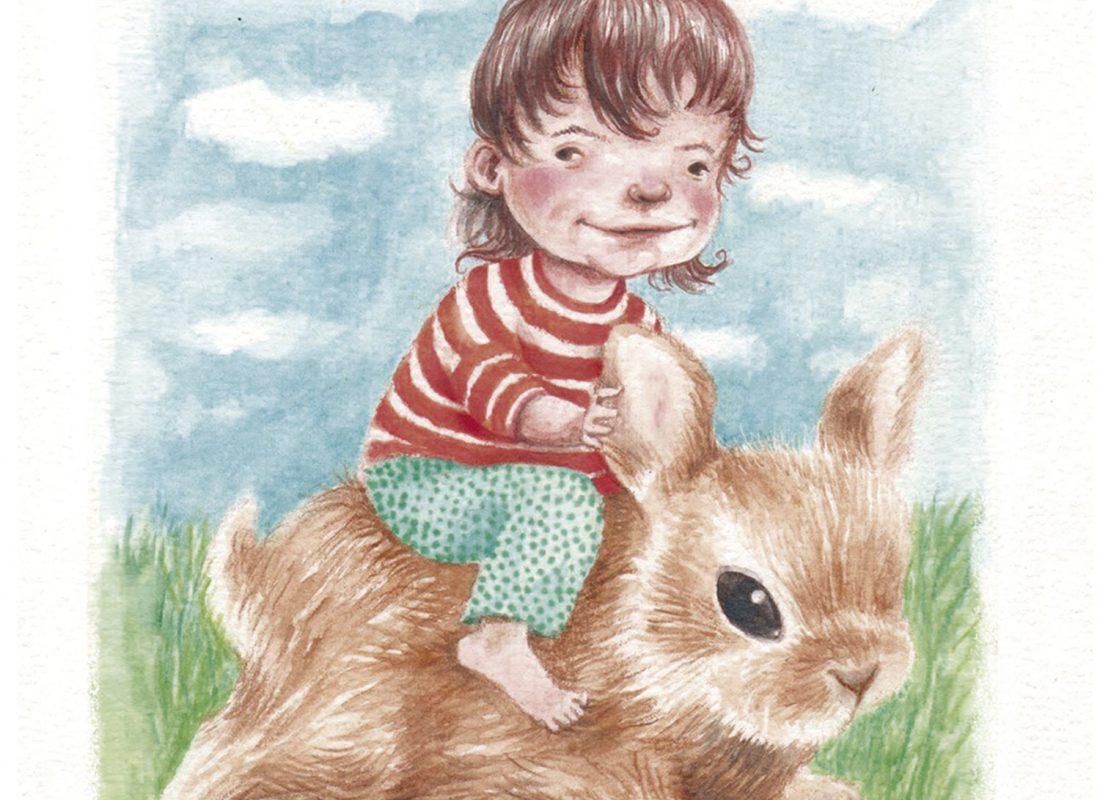 Karla González - Niña conejo