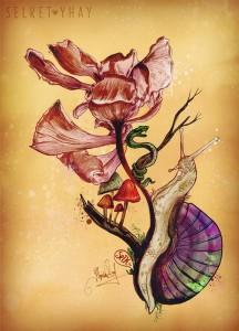 Selket-Yhay-Flor-del-Cosmos